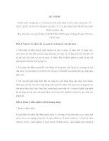 QUY ĐỊNH PHÂN CẤP VÀ QUẢN LÝ, SỬ DỤNG TÀI SẢN NHÀ NƯỚC TẠI CƠ QUAN, TỔ CHỨC, ĐƠN VỊ THUỘC PHẠM VI QUẢN LÝ CỦA ĐỊA PHƯƠNG TRÊN ĐỊA BÀN TỈNH QUẢNG TRỊ pptx