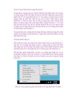 Tự tạo Classic Start Menu trong Windows 7 potx