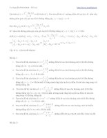 Bài tập khảo sát hàm số bậc 2 pot