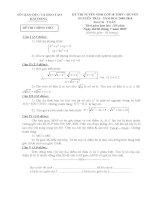 Tuyển tập 1000 bài toán ôn vào lớp 10