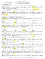 Tổng hợp các dạng toán trong đề thi ĐH 2006-2009