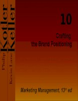 Crafting the Brand Positioning docx