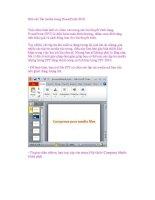 Nén các file media trong PowerPoint 2010 ppsx