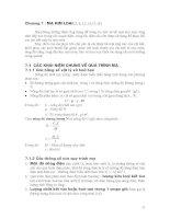 Công nghệ phục hồi Chi tiết máy - Chương 7 ppt