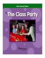 Math Concept Reader - The class party pot