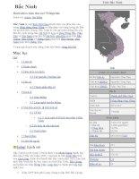 Những thông tin về Văn hoá-xã hội của tỉnh Bắc Ninh
