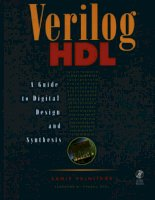 Verilog HDL A guide to Digital Design and Synthesis doc