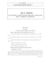 QUY TRÌNH VẬN HÀNH VÀ BẢO DƯỠNG RƠLE KỸ THUẬT SỐ KIỂU 7SJ60025-51- SIEMENS pot