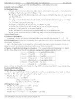 Chuyên đề 2: Tốc độ phản ứng - Cân bằng hóa học
