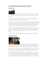 Các địa điểm tham quan du lịch tại Đà Lạt(phần I): pdf