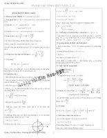 Tóm tắt công thức vật lí -12 ( có bổ sung )