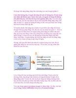 Sử dụng tính năng đăng nhập bảo mật nâng cao của Google (phần I) doc