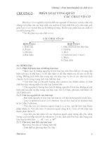 Bài Giảng Hóa Vô Cơ - Chương 2&3 potx