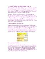 Tự tay thiết kế trang web riêng miễn phí (Phần III) doc