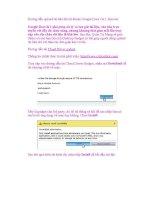 Hướng dẫn upload tài liệu lên tài khoản Google Docs với 1 thao tác pot