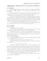Bài Giảng Hóa Vô Cơ - Chương 8 ppt