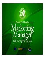 Cach viet ke hoach marketing - How to write marketing plan - Viet nam Marcom 2010 ppsx