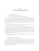 Chương 11: THIẾT BỊ ĐÓNG MỞ CỬA VAN pps