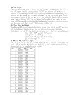 Bài tập lớn môn kinh tế lượng potx