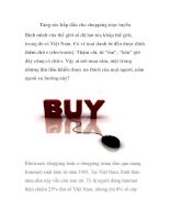 Tăng sức hấp dẫn cho shopping trực tuyến ppsx