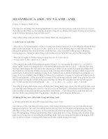 SO SÁNH GIỮA ANH - MỸ VÀ ANH - ANH ppsx