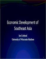south east asia development 1a pptx