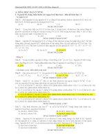 tổng hợp các dang bài trong đề thi đại học