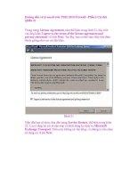Hướng dẫn xử lý email trên TMG 2010 Firewall –Phần I:Cài đặt (phần 3) Trong trang docx