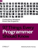 97 Things Every Programmer Should Know pps