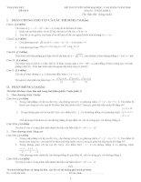 Tuyển tập đề thi thử môn toán 4