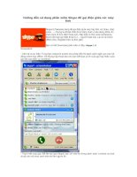 Hướng dẫn sử dụng phần mềm skype để gọi điện giữa các máy tính