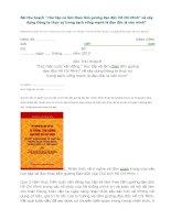 Bài thu hoạch học tập và làm theo tấm gương đạo đức Hồ Chí Minh năm 2010