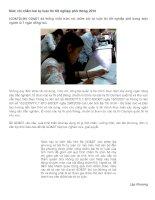 Mức chi chấm bài tự luận thi tốt nghiệp phổ thông 2010