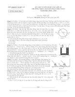 ĐỀ THI VÀO LỚP 10 THPT CHUYÊN PHAN BỘI CHÂU