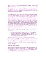 Hướng dẫn xử lý email trên TMG 2010 Firewall –Phần II:Chính sách E-Mail : (phần 1) ppsx