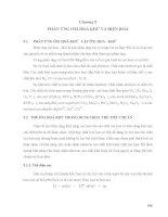 Giáo trình cơ sở lý thuyết hoá học - Chương 9 pptx