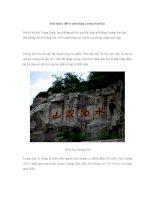 Đến thăm 108 vị anh hùng Lương Sơn Bạc pptx