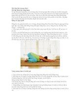 Bài tập thể dục và chăm sóc sắc đẹp khi mang thai ppt