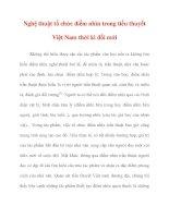 Nghệ thuật tổ chức điểm nhìn trong tiểu thuyết Việt Nam thời kì pptx