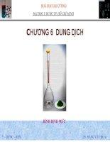 Chương 6: Dung dịch pdf
