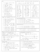 Công thức toán học mới và đầy đủ nhất pot