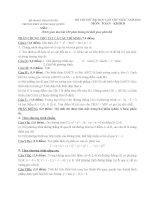 Tuyển tập đề thi thử môn toán 5