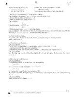 35 bộ đề ôn thi tốt nghiệp_theo chưng trình mới của bộ