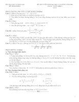 Tuyển tập đề thi thử môn toán 3
