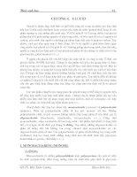 Giáo trình hóa sinh học - Chương 4 ppsx