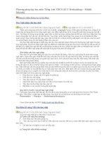Phương pháp dạy học môn Tiếng Anh THCS.doc
