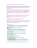 Sử dụng Administrative Tools trong Windows 7 (phần I) pdf
