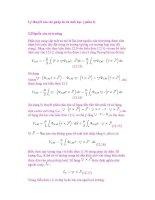 Lý thuyết của các phép đo từ sinh học ( phần 2) potx