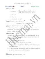 Đề tự ôn luyện thi vào lớp 10 môn Toán - đề số 3 docx