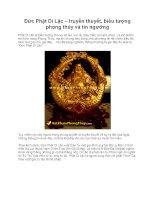 Đức Phật Di Lặc – truyền thuyết, biểu tượng phong thủy và tín ngưỡng potx